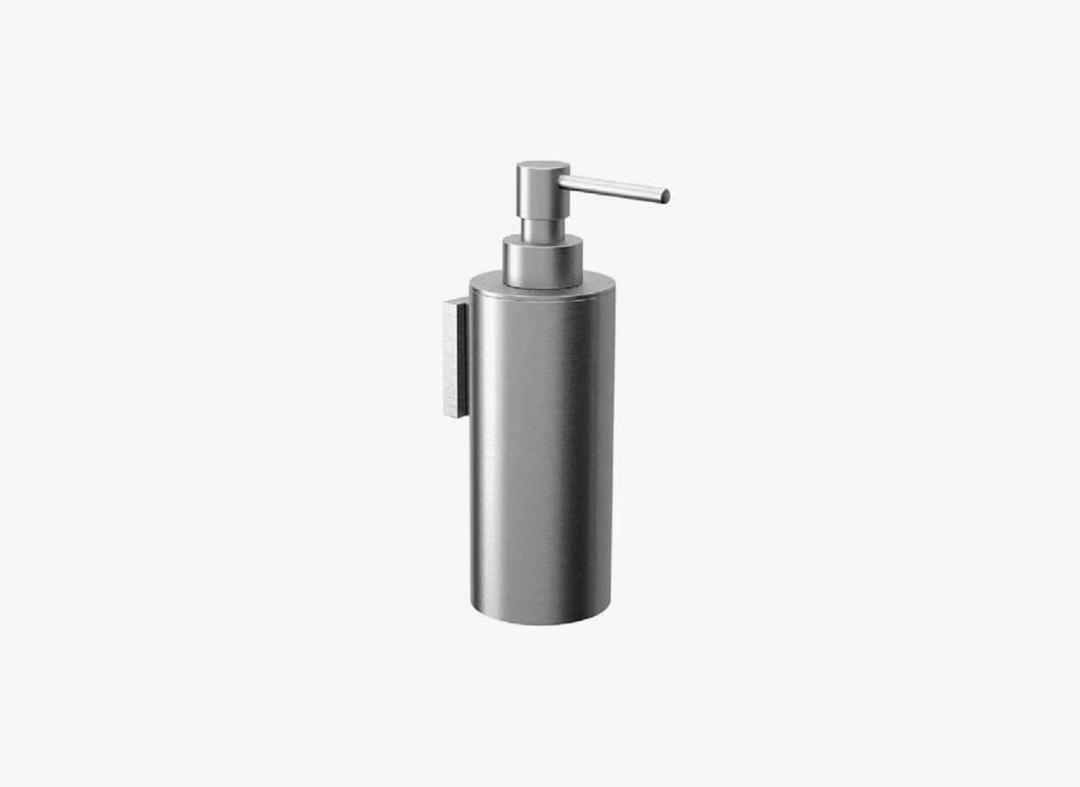 Stainless bathroom accessories - Mono 57_pb_black Cocoon Mnl 57 Stainless Steel Soap Dispenser