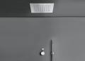 COCOON MONO SET24 RVS thermostatische regendouche set