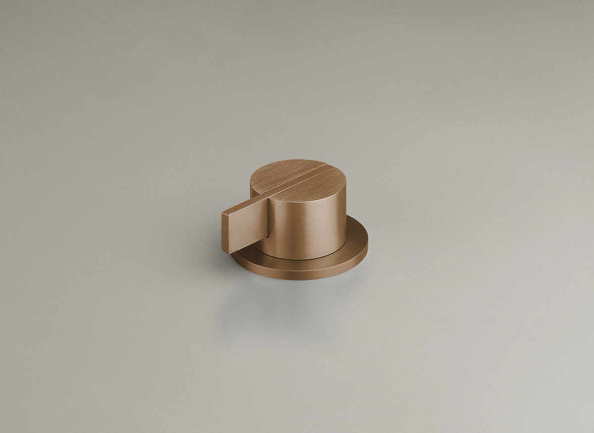 COCOON PB04 Deck mounted mixer - raw copper