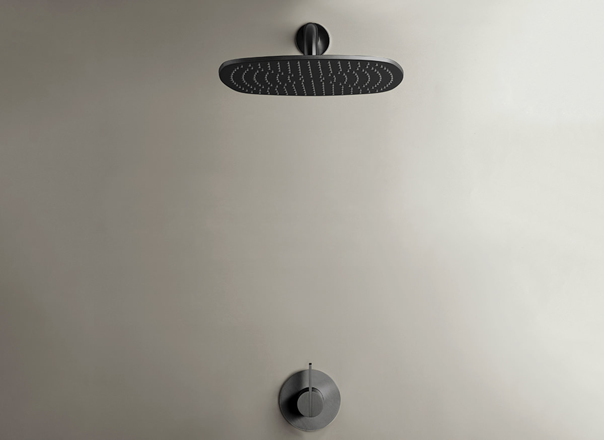 COCOON PB SET21 Rain shower set - gunmetal black