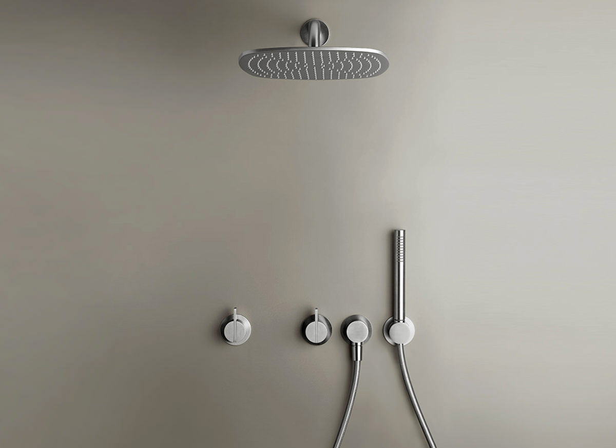 COCOON PB SET21 Rain shower set - stainless steel