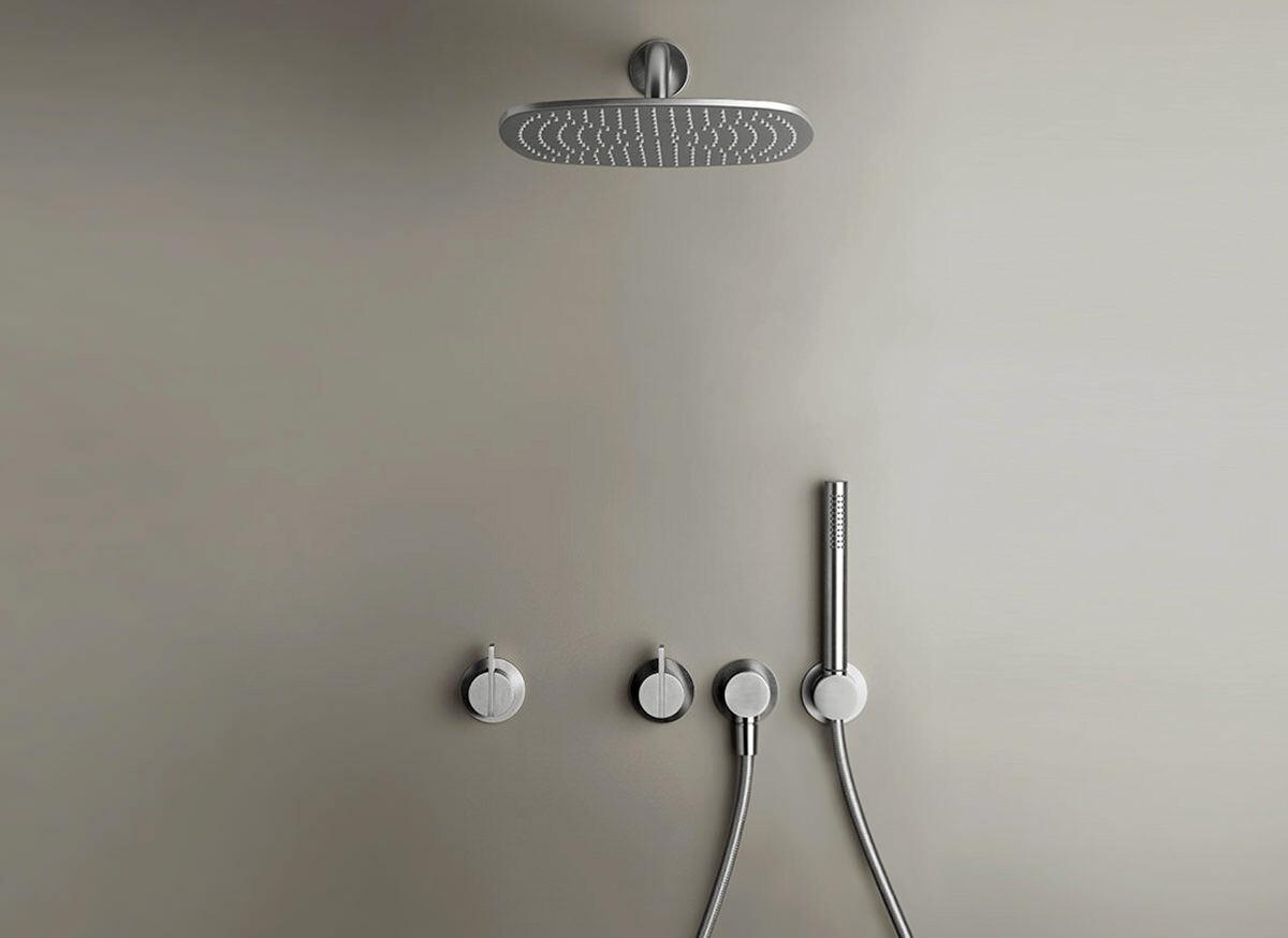 COCOON PB SET21 Rain shower set - stainless steel