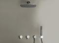 PB SET22 rainshower, 2 mixers and hand shower set