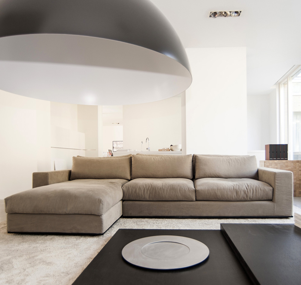 Bulthaup showroom bycocoon for Chaise longue bank