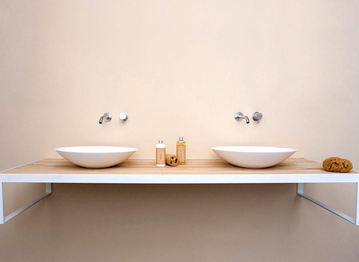 Kleine Waskom Toilet : Cocoon bowl ronde waskom met interne sifon bycocoon
