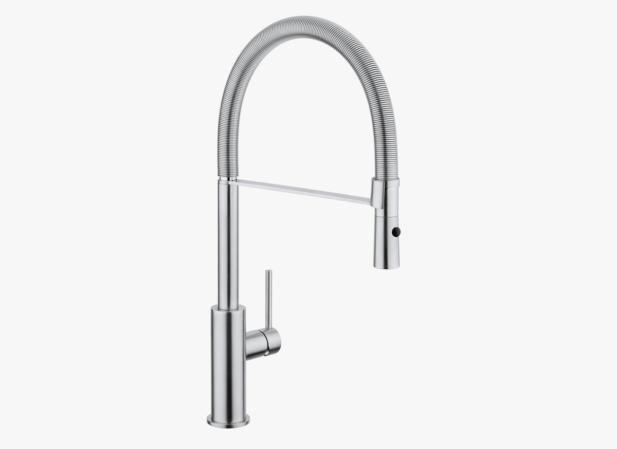 COCOON MONO 14 Kitchen tap with pull-out spray - Bycocoon