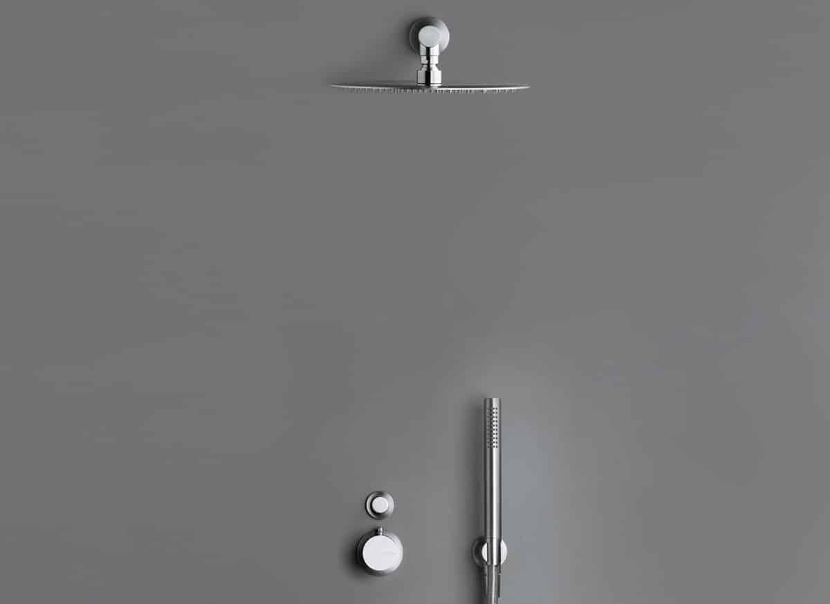 COCOON MONO SET21 Thermostatic Rain shower set - Bycocoon