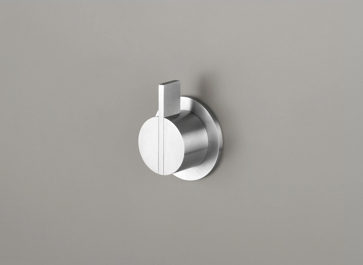COCOON PB01 Wall mounted mixer - stainless steel
