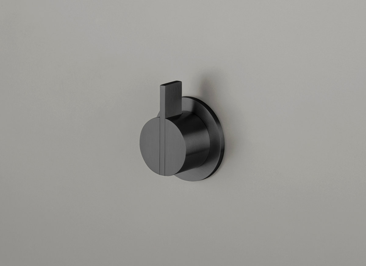 COCOON PB01 Wall mounted mixer - gunmetal black