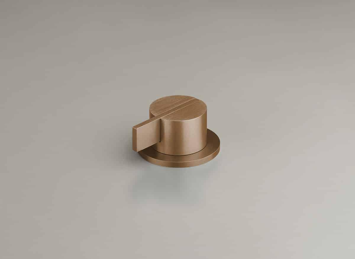 COCOON PB04 Deckmontierter Einhebelmischer (Raw Copper)