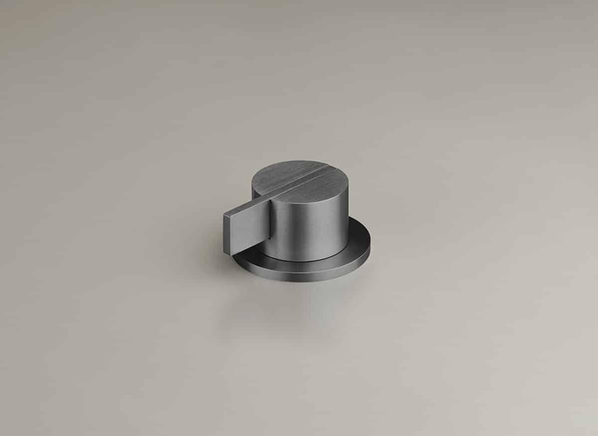 COCOON PB04 Deckmontierter Einhebelmischer - Gunmetal Black