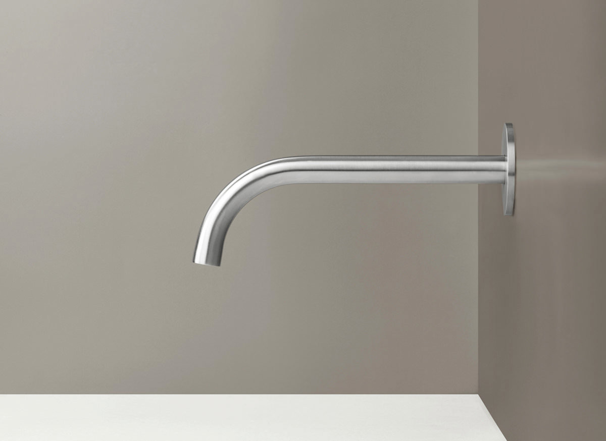 COCOON PB10 Wall mounted spout - stainless steel
