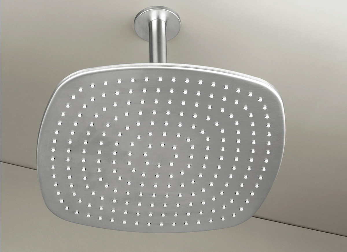 COCOON PB31 Ceiling mounted rain shower - stainless steel