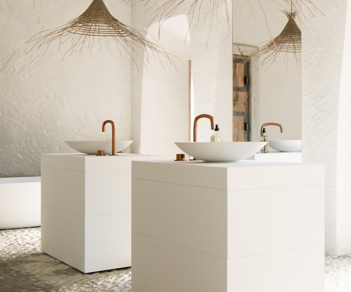 Modern bathroom design byCOCOON - Bycocoon