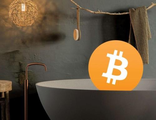 Koop je badkamer met Bitcoin!