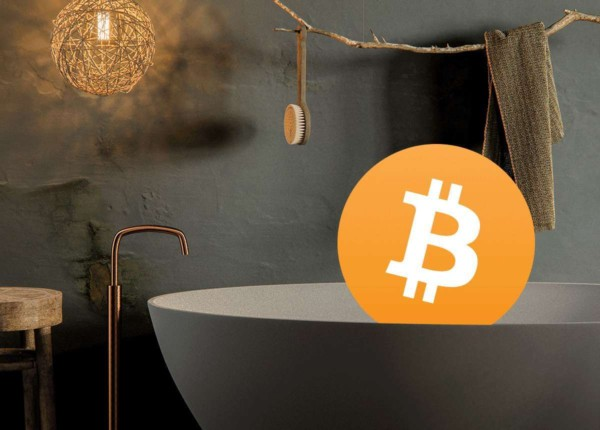 Buy your bathroom with Bitcoin