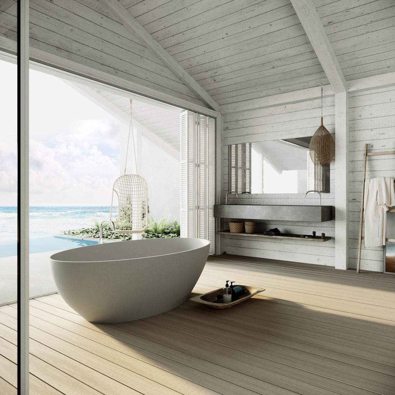 . Modern bathroom design byCOCOON   Bycocoon