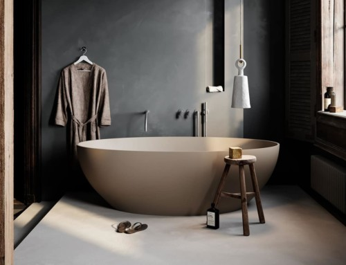 Country House bathroom with John Pawson